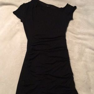 Black BEBE mini dress